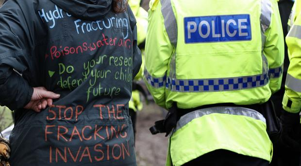 Controversial fracking techniques have sparked fierce protests