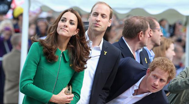 The Duke and Duchess of Cambridge, and Prince Harry, will be watching events at the Commonwealth Games