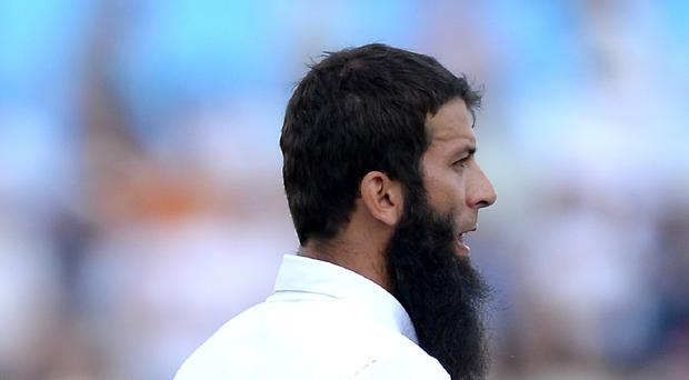 England's Moeen Ali is being investigated for wearing wristbands during a Test match