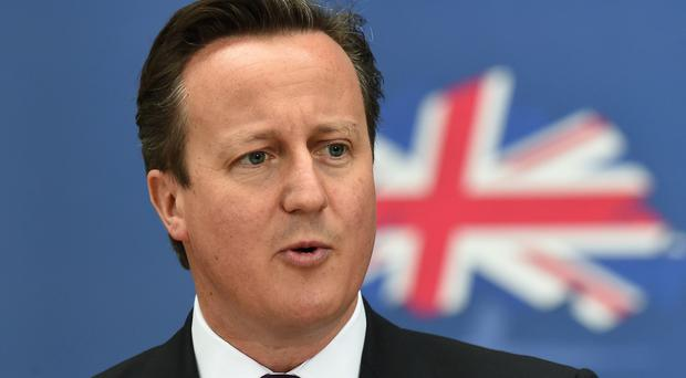 David Cameron said the change would make it clear to migrants that they cannot get 'something for nothing' in Britain