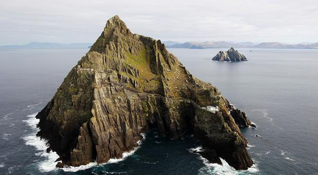 Filming for the new Star Wars film is taking place on Skellig Michael