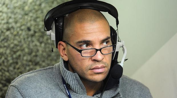 Former footballer Stan Collymore, now a commentator, was abused on Twitter