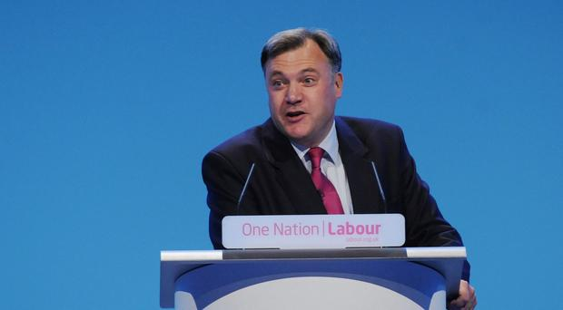 The Government's record on wages is a dismal failure, Ed Balls claimed