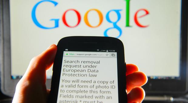 Search giant Google has received more than 70,000 requests to block links in response to the ruling