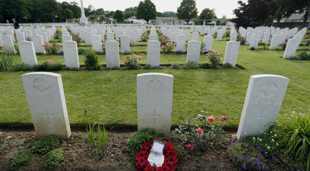 War cemeteries such as this in Normandy, France, are visited by thousands of people each year