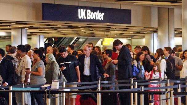 The report cast doubt on the likelihood of Theresa May reducing net migration to