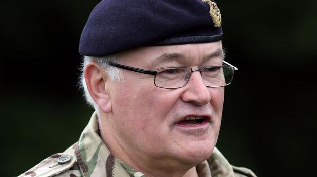 Chief of the General Staff Sir Peter Wall says the Afghan conflict has produced a 'warrior generation'