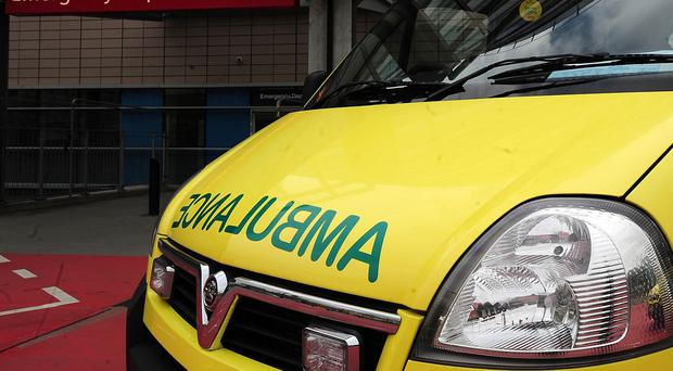 File photo dated 07/04/11 of an ambulance outside the entrance to an Accident and Emergency department as a US study shows closing hospital accident and emergency (A&E) departments has knock-on effects that lead to more patient deaths.
