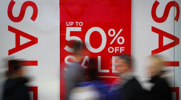 Deflation has reached its deepest point for eight years, figures show