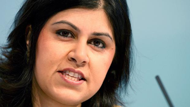 Baroness Warsi branded the UK's policy on Gaza mealy-mouthed and morally indefensible