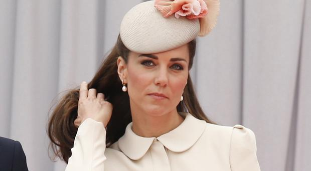 The Duchess of Cambridge joins showbiz stars in the hall of fame