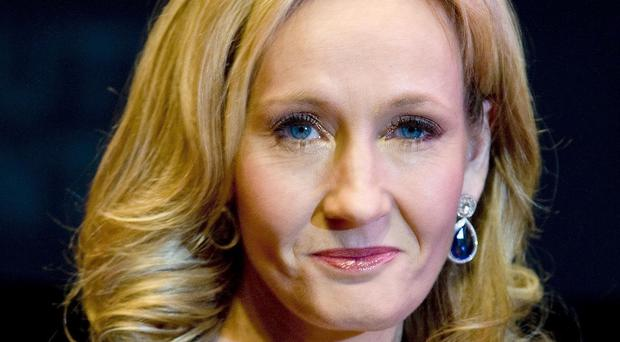 Author JK Rowling who has written to Cassidy Stay, 15, from Texas, who found strength in the words of a Harry Potter film after her entire family were shot dead.