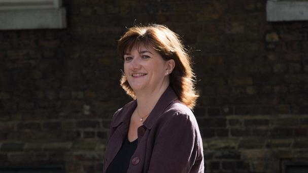 Nicky Morgan says that toddlers should be taught fundamental British values