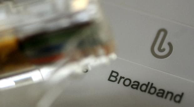 New figures show more than one million homes and businesses have superfast broadband