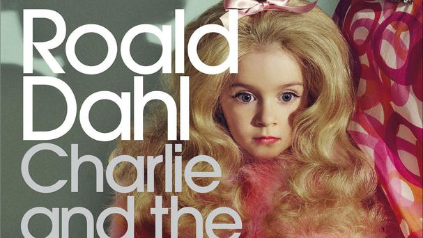 The cover of a new edition of Roald Dahl's Charlie and the Chocolate Factory was criticised for using a 'sexualised' photograph of a young girl (Penguin Modern Classics /PA)