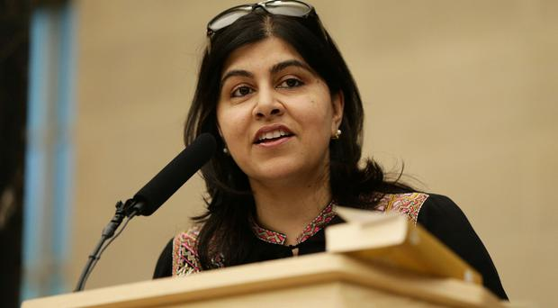 Baroness Warsi resigned from the Government over its policy on Gaza