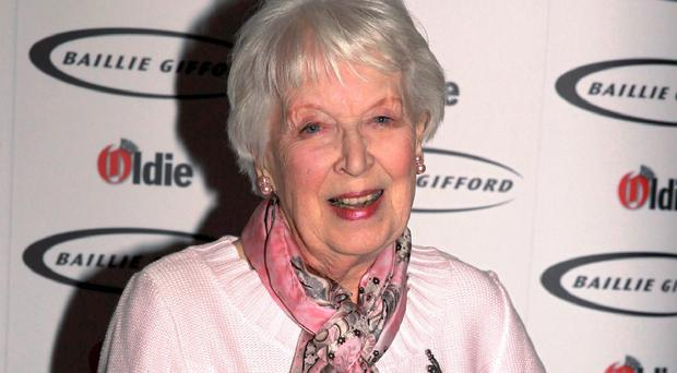 June Whitfield has starred alongside acting greats including Frankie Howerd and Benny Hill