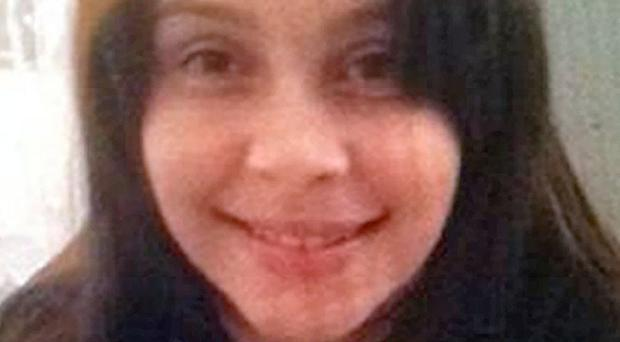 Schoolgirl Rebecca McLean has disappeared with a man twice her age (Hampshire Police/PA)
