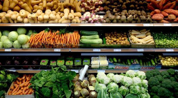 Food sales saw a 3.5% slump in the quarter to July, new figures show
