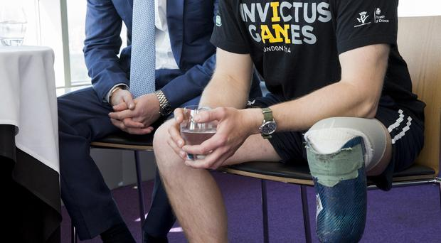 Prince Harry (left) is the driving force behind the Invictus Games