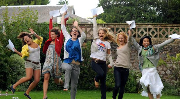 Girls seem reluctant to take subjects like physics and maths at A-level