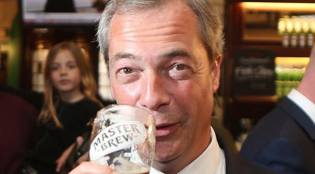 Nigel Farage confirmed his intention to contest the Ukip nomination for the South Thanet seat