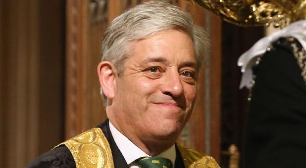 Speaker John Bercow is under fire over his preference for the Commons clerk job