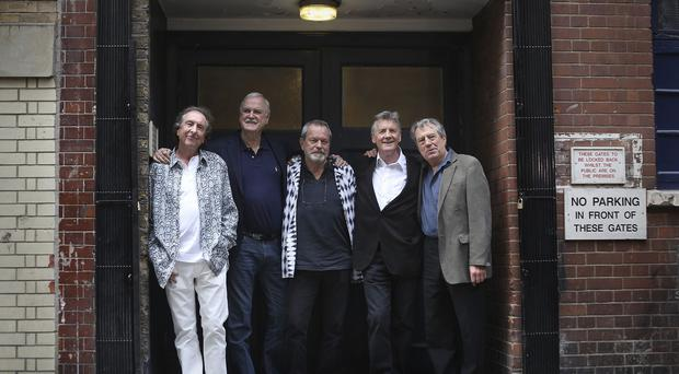 The Monty Python team got together for a series of live dates at the O2 Arena.