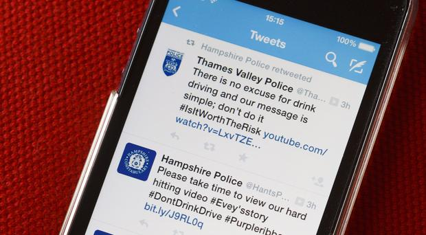Hundreds of police employees have been investigated for breaching social media guidelines at forces across England and Wales