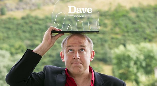 Tim Vine cleaned up with his Hoover one-liner at the Edinburgh Fringe festival