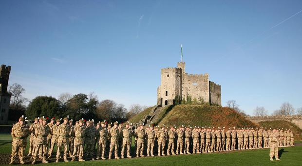 Cardiff Castle is one of the venues that will need tight security
