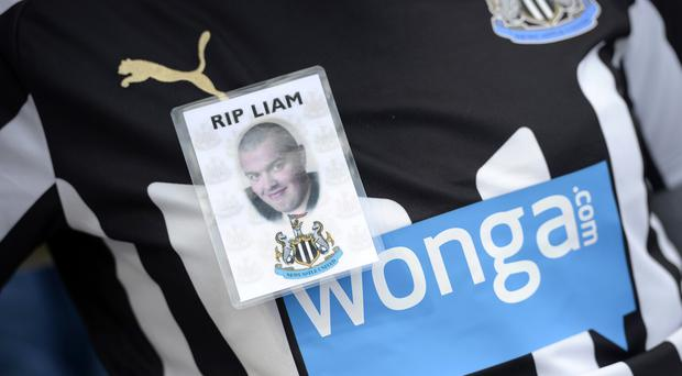 Newcastle fan Liam Sweeney was the first British victim to be identified from the wreckage