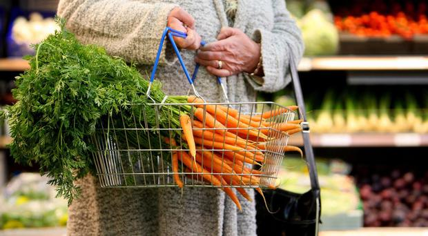 New ONS figures show that spending in food stores has dropped for the first time in at least 25 years