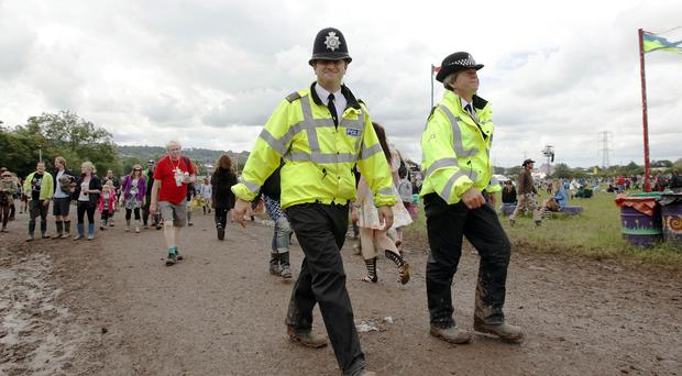 Police will be at the festival to help on-site security