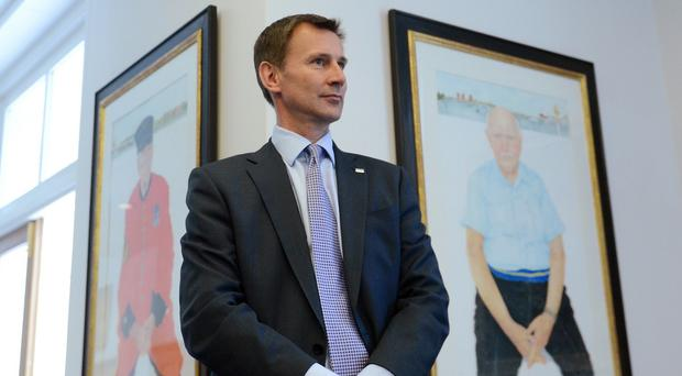 Jeremy Hunt said patients and families should not have to deal with the added stress of unfair parking charges