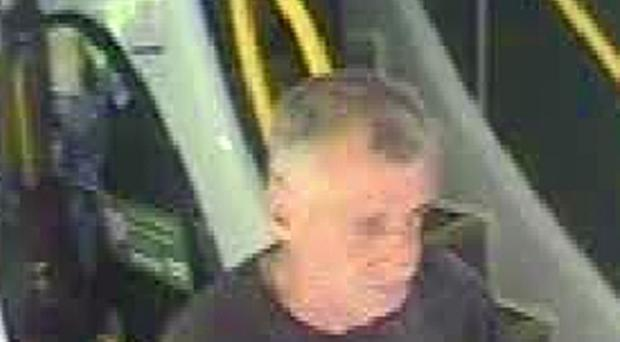 One of two burglary suspects sought by police after a break-in in Manchester (Greater Manchester Police/PA)