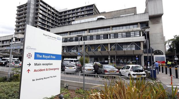 British Ebola victim Will Pooley is in an isolation unit at London's Royal Free Hospital