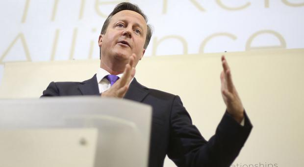David Cameron will tell business leaders that the UK is 'one of the oldest and most successful single markets in the world'