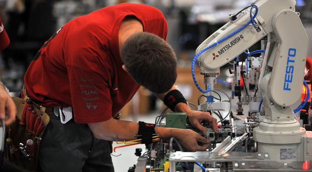 Manufacturing confidence is lower than expected