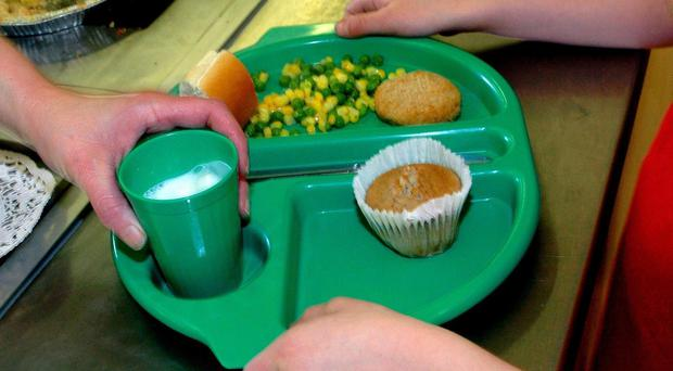 Almost two million infants will receive a free lunch from today