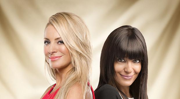 Claudia Winkleman (right) is replacing Sir Bruce Forsyth as Tess Daly's co-host