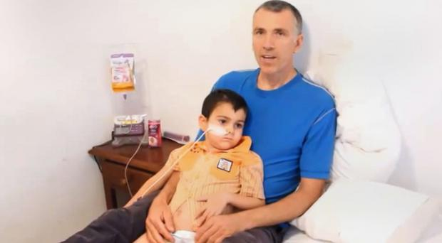 A video posted on YouTube by Naveed King showed Brett King with his son Ashya and explained why he was taken by his parents from hospital without doctors' consent.