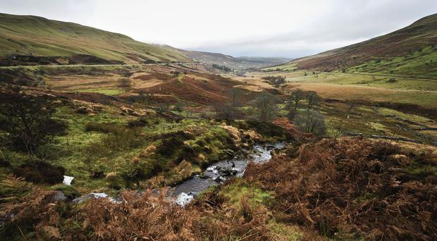The soldiers were on a training exercise in the Brecon Beacons