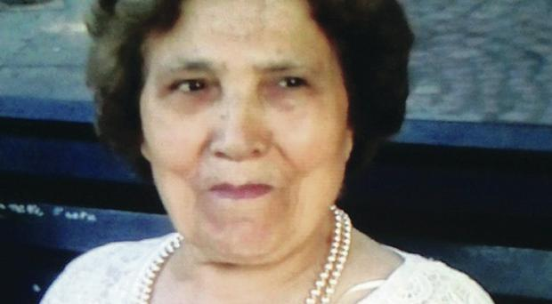 Palmira Silva (82) who was beheaded in a knife attack in a London garden
