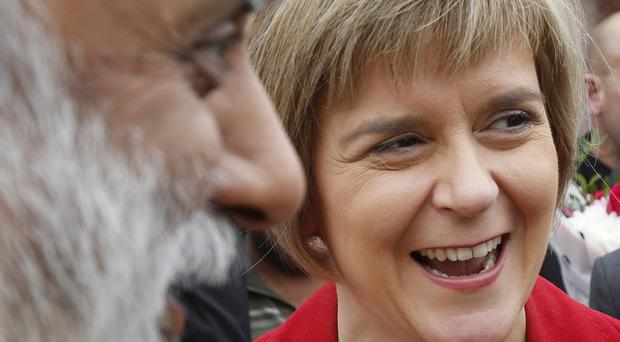 Nicola Sturgeon will today turn her attention to the youth vote