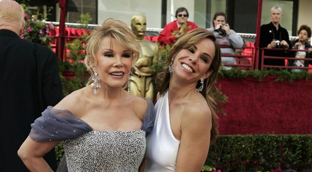 The funeral of Joan Rivers, pictured with her daughter, Melissa, will take place in New York (AP)