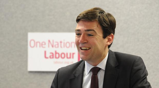 Andy Burnham said the marchers symbolise the concern felt by millions across the UK for the future of the NHS