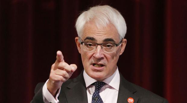 Alistair Darling said the poll must be a wake-up call to anyone who thought the referendum result was a foregone conclusion