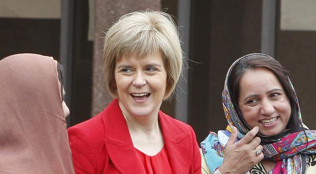 Scotland's Deputy First Minister Nicola Sturgeon described the poll as exceptionally positive.