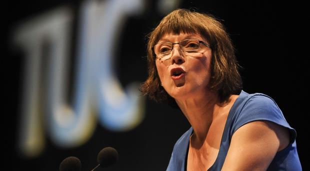 TUC general secretary Frances O'Grady will accuse the Tories of 'reinventing the class system'
